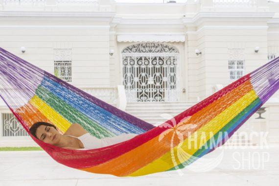 Hammock Cotton Rainbow Modelo