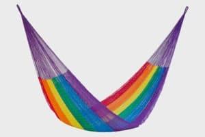 Hammock Nylon Rainbow1