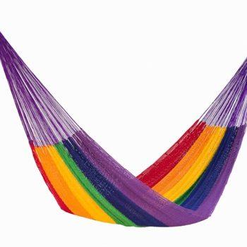 Hammock Outdoor Cotton Rainbow