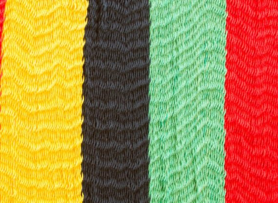 Hammock Rasta  Outdoor Cotton Swatch