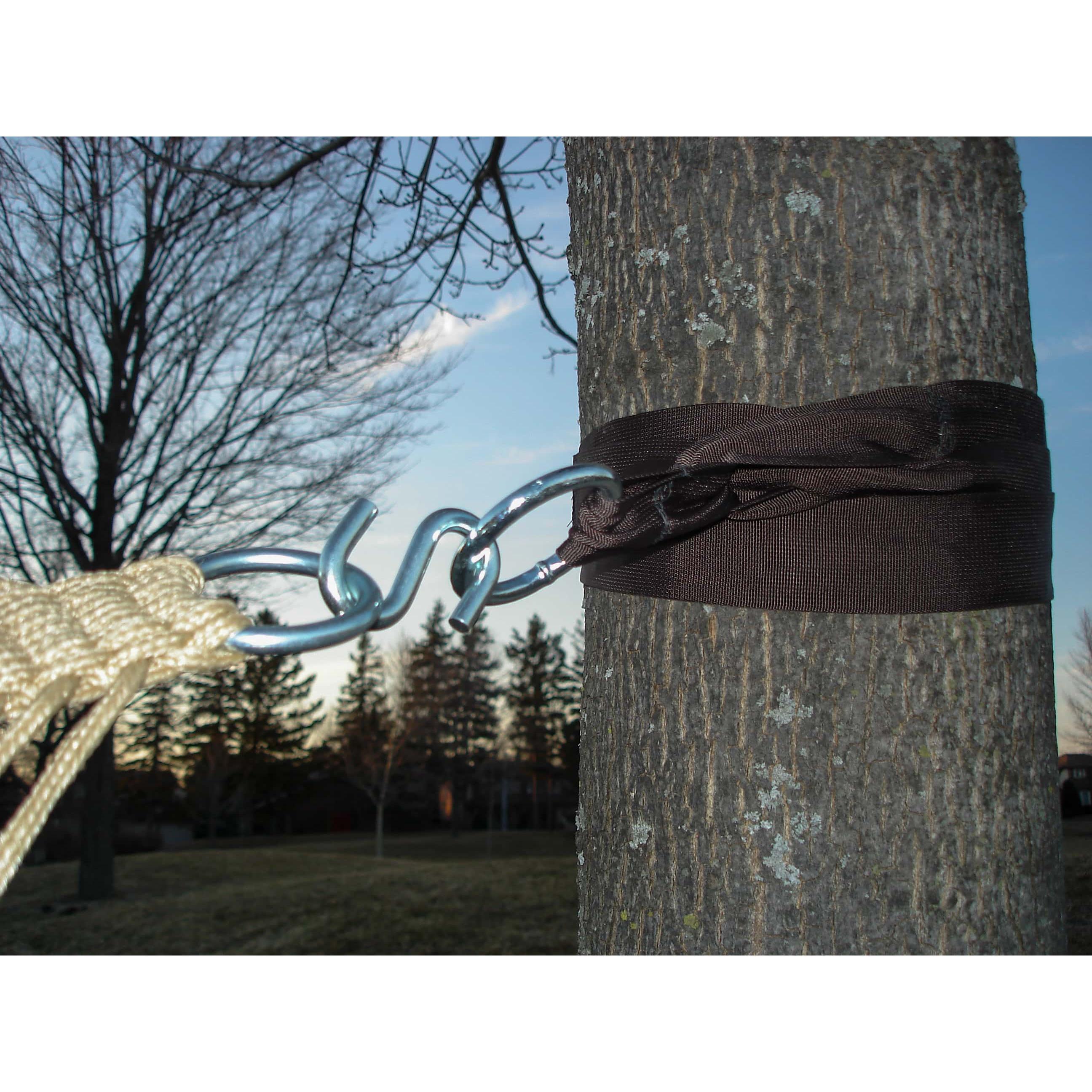 Vivere Eco-Friendly Hammock Tree Straps (2 Pack)