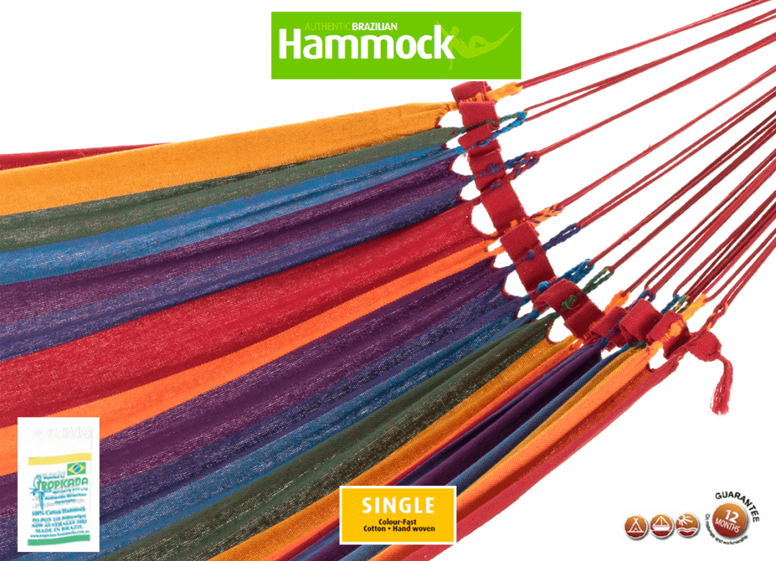 brazilian single hammock bps0001 2 brazilian cotton single hammock  u2013 hammock shop  rh   hammockshop   au