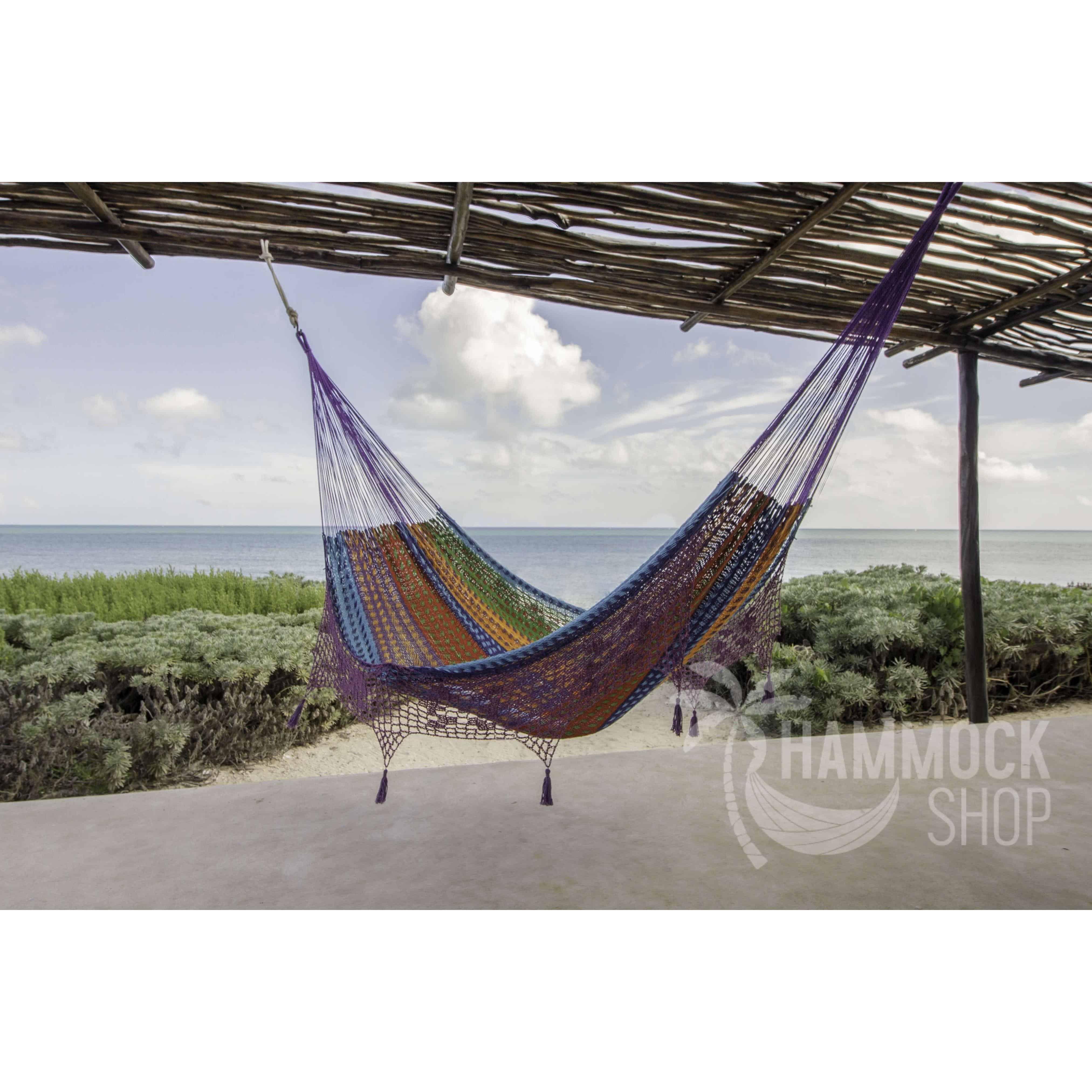 green hammock original woven island large duracord xx pawleys rope