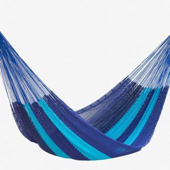 Hammock Outdoor Cotton Caribbean Blue