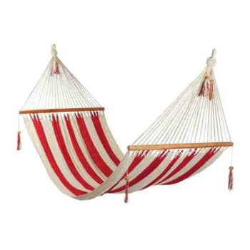 Hammock Red and white