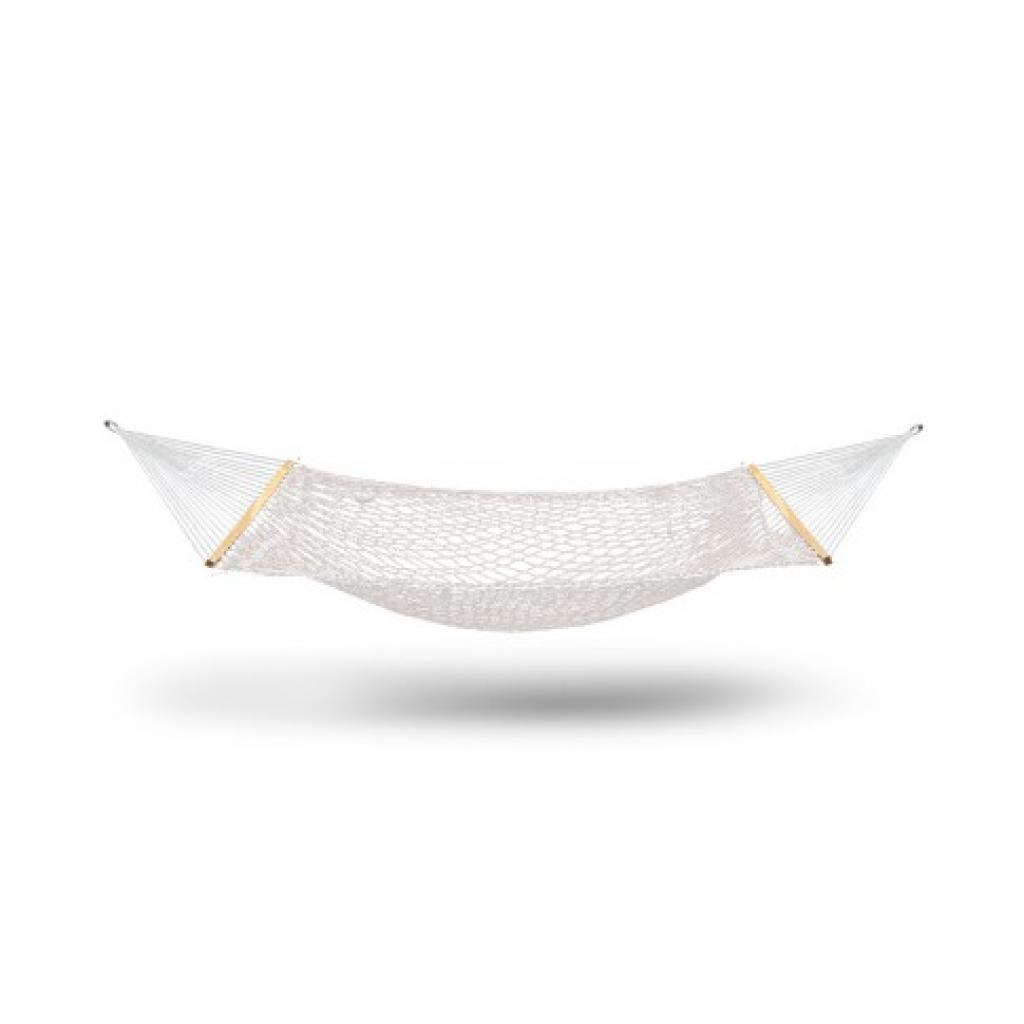 Double Swing Hammock Bed in Cream