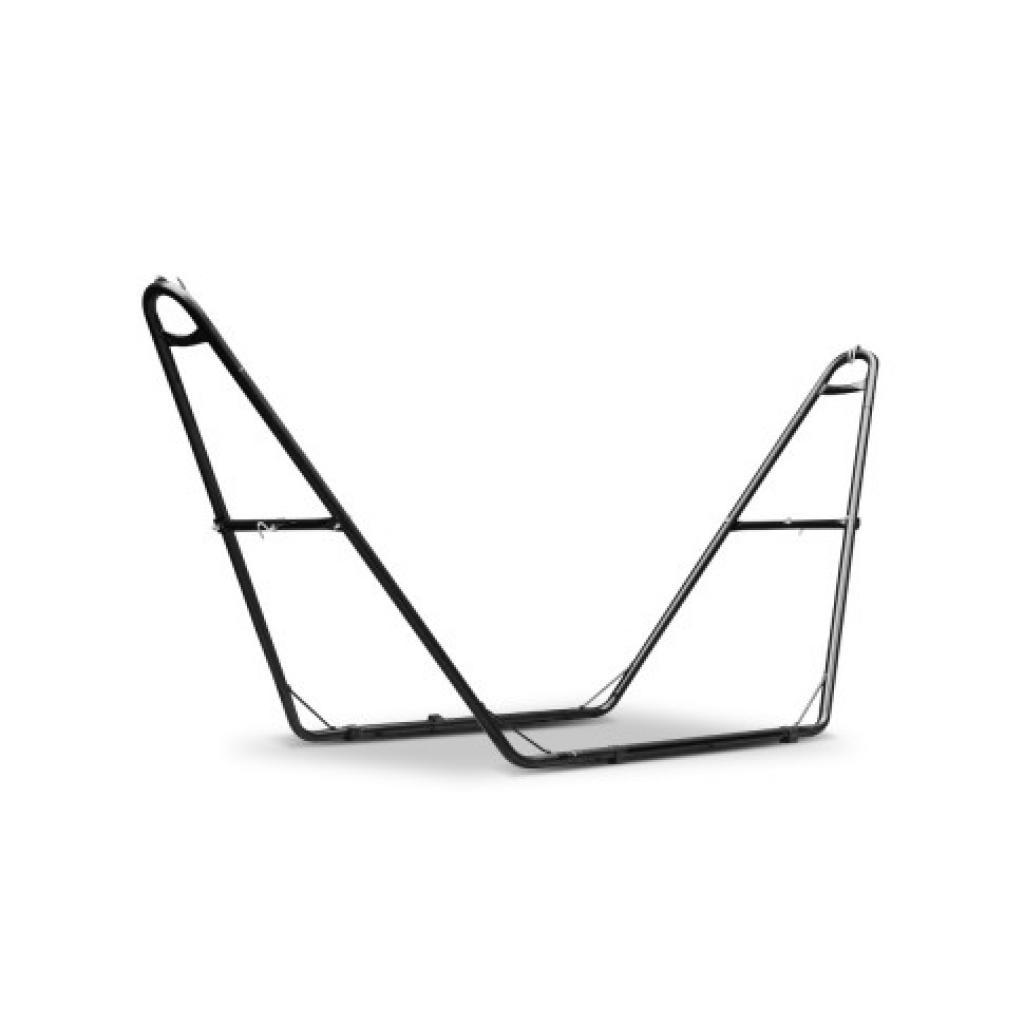 Split Steel Hammock Stand & Cream Double Hammock Combo