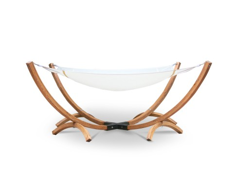Square Double Timber Hammock Bed from Hammock Shop