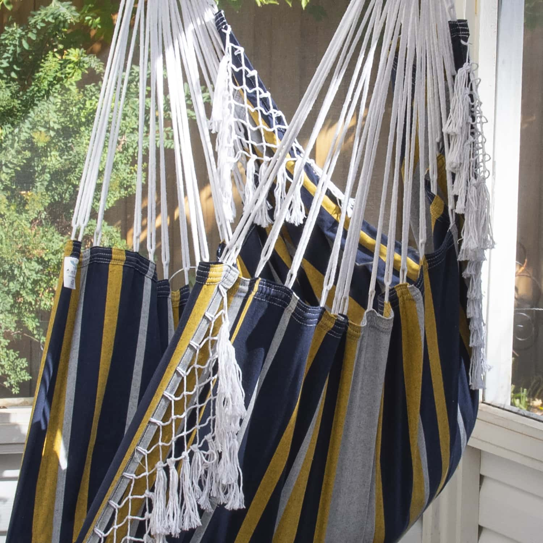 Brazilian Hammock Chair in Serenity