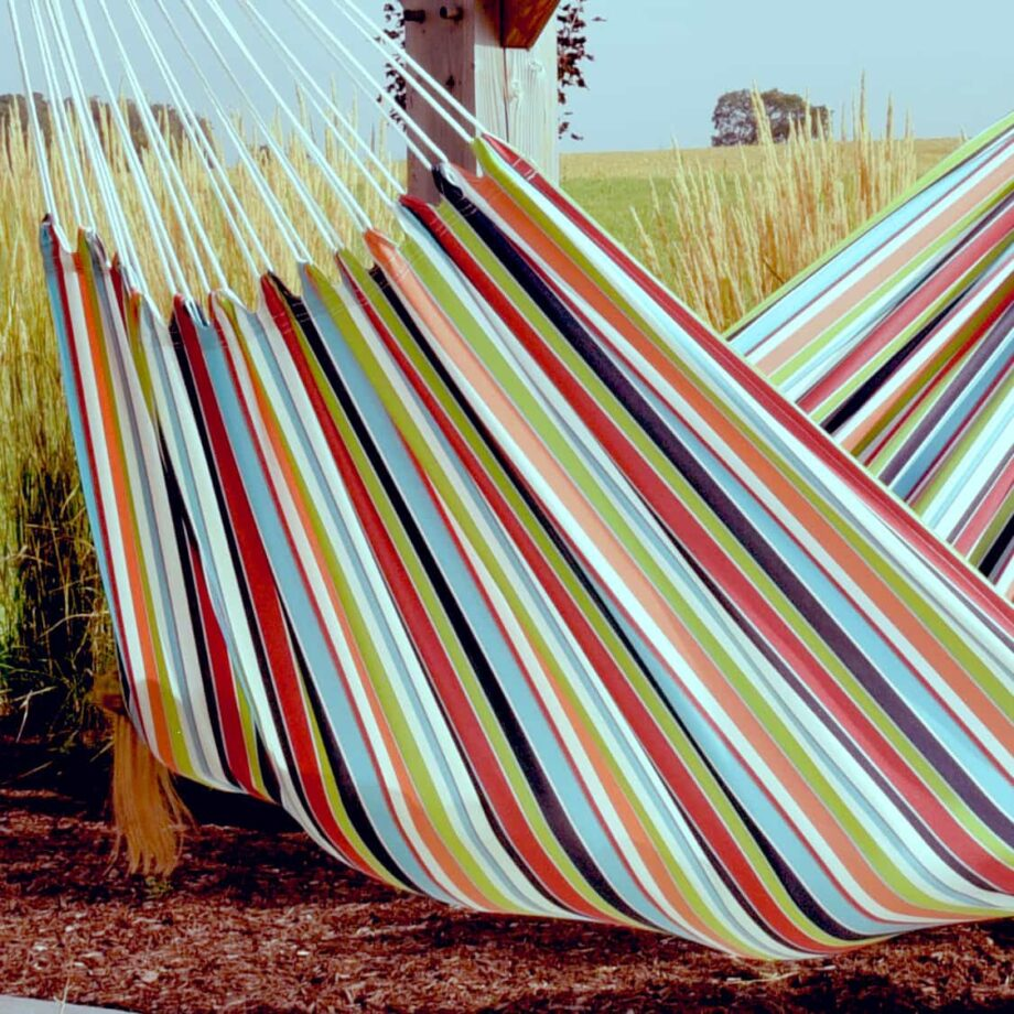 Double Brazilian Polyester Hammock in Ciao – BZPOLY10