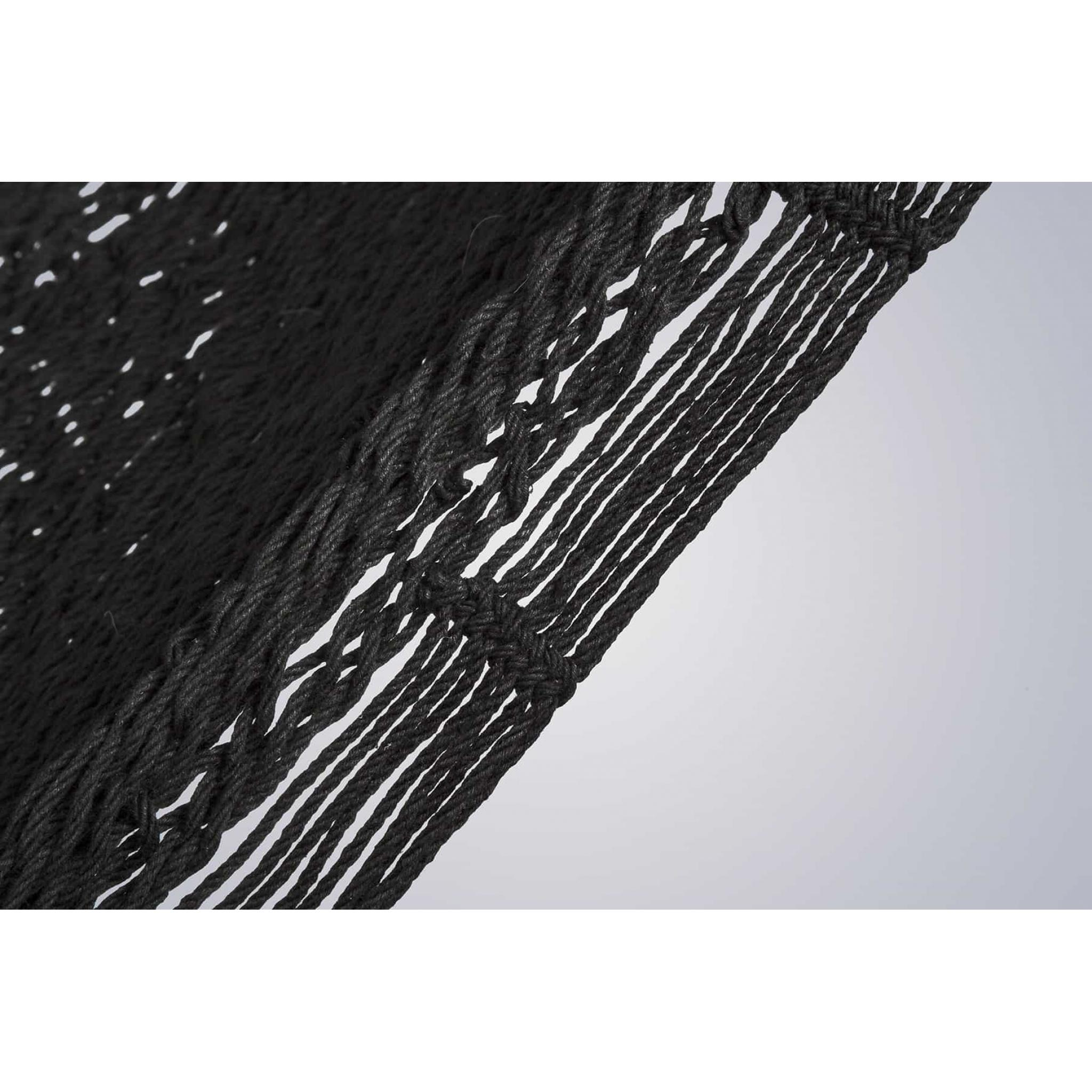 King Size Outdoor Cotton in Black – Detail