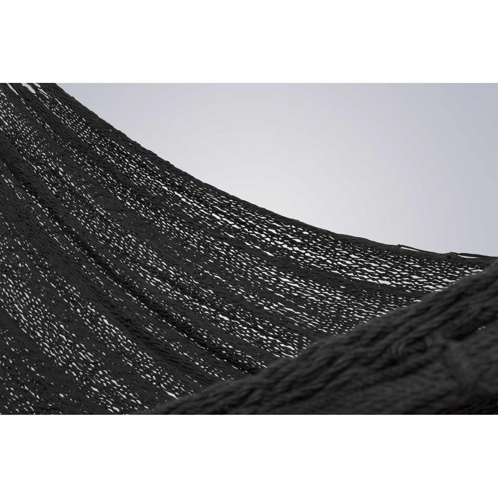 King Size Outdoor Cotton in Black – TK Black swatch