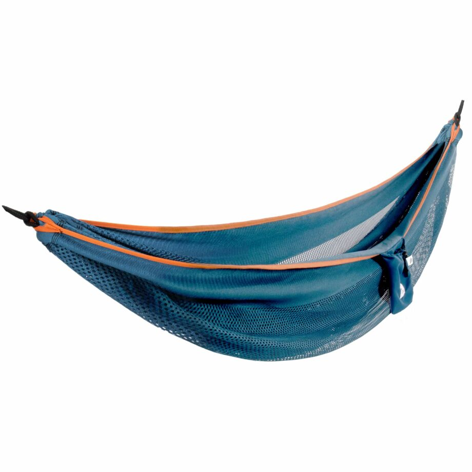 Mesh Double Hammock in Blue and Orange – MESH2-40