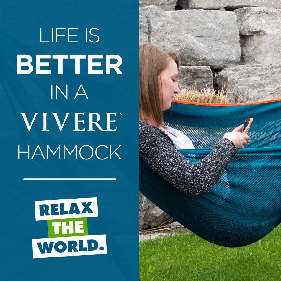 Mesh Hammock Combo in Blue and Orange – Life-is-better-M40