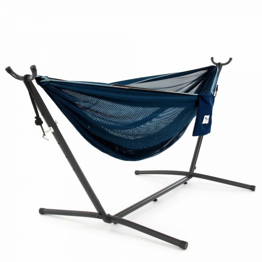 Mesh Hammock Combo in Navy and Turquoise – C8MESH-Turquoise-Blue