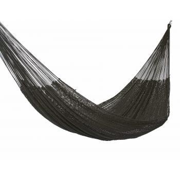 Outdoor Cotton King Hammock inBlack product image