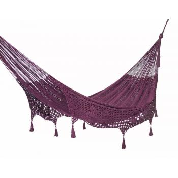 Deluxe Outdoor cotton hammock in Maroon product image