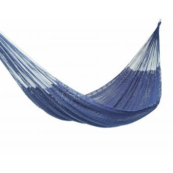 Outdoor Cotton King Hammock inBlue product image