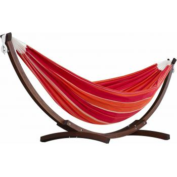 8ft Double Cotton and Solid Pine Arc Stand Combo in Mimosaproduct image