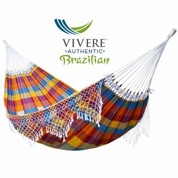 Authentic Brazilian Double Tropical Hammock in Carnivalproduct image