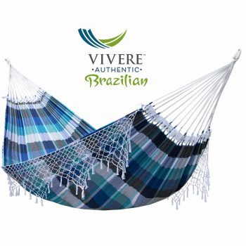 Authentic Brazilian Double Tropical Hammock in Marinaproduct image